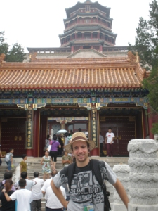 En el Summer Palace, Beijing.