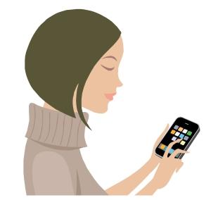 Uso de smartphones en España.