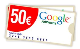 50 euros de publicidad gratis.