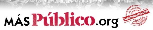 Cabecera de MásPúblico.org.